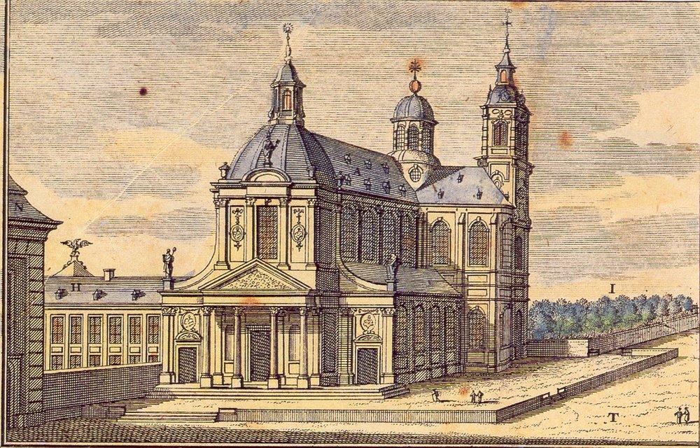 Fronton abdijkerk