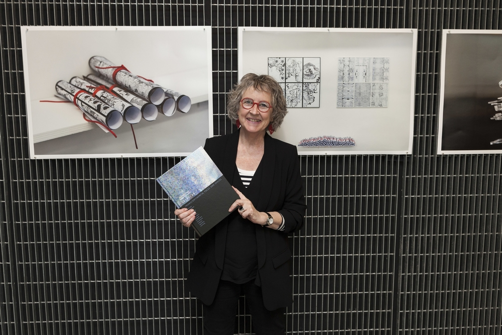 Dr Maggie McCormick at the book launch, June 15, 2016, Melbourne, Australia, RMIT University, photo: Kate Mollison