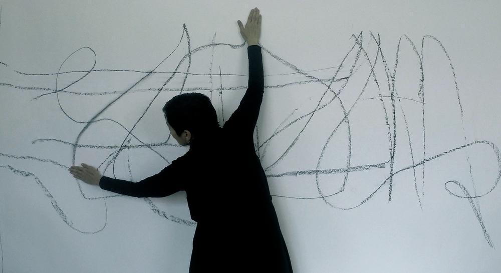 Riza Manalo, Line Drawing, 2016