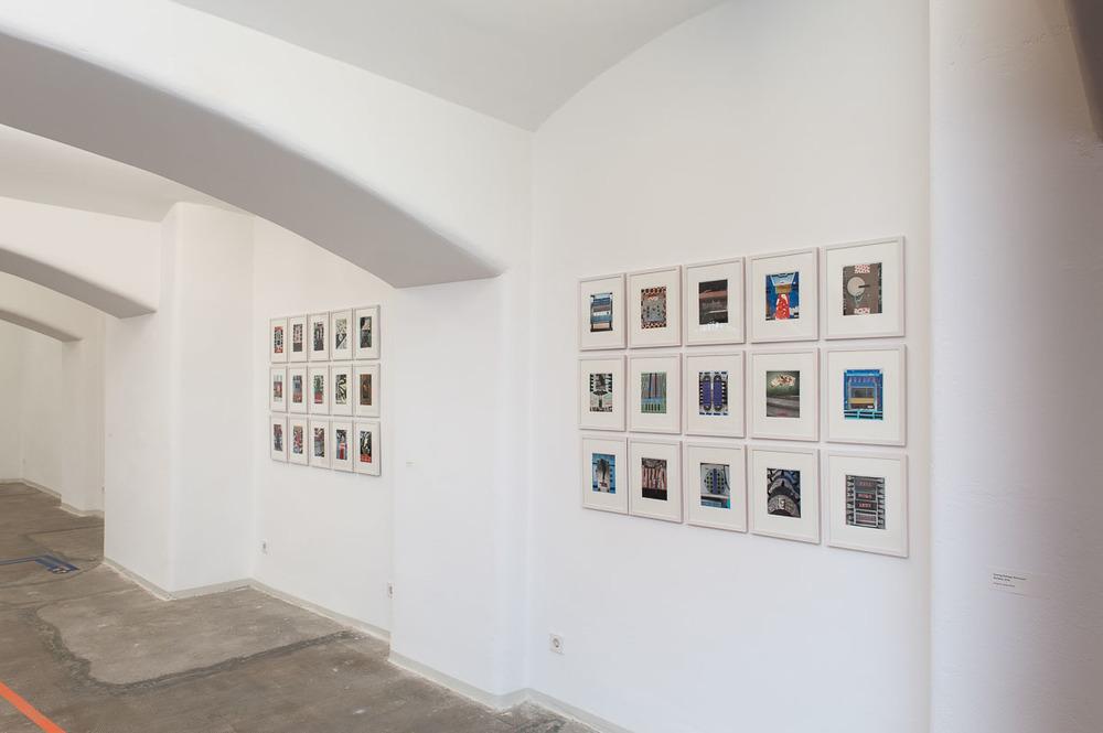 Henning Eichinger, Städtische Galerie Reutlingen, 2016, Photo: Karl Scheuring, Reutlingen