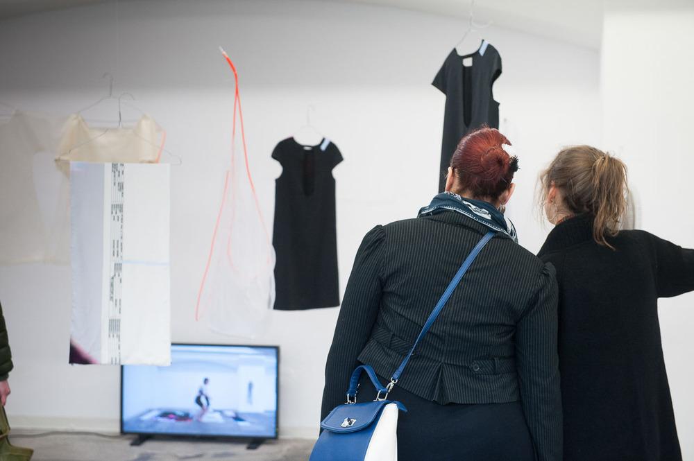 At the opening, Städtische Galerie Reutlingen, 2016, Artwork: Thy to Uyen Ly.