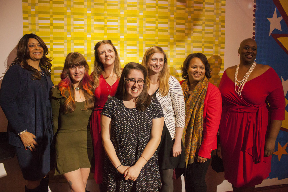 The Cast of the 2015 Memphis Monologues. Money raised during the event benefited Planned Parenthood of Greater Memphis Region.