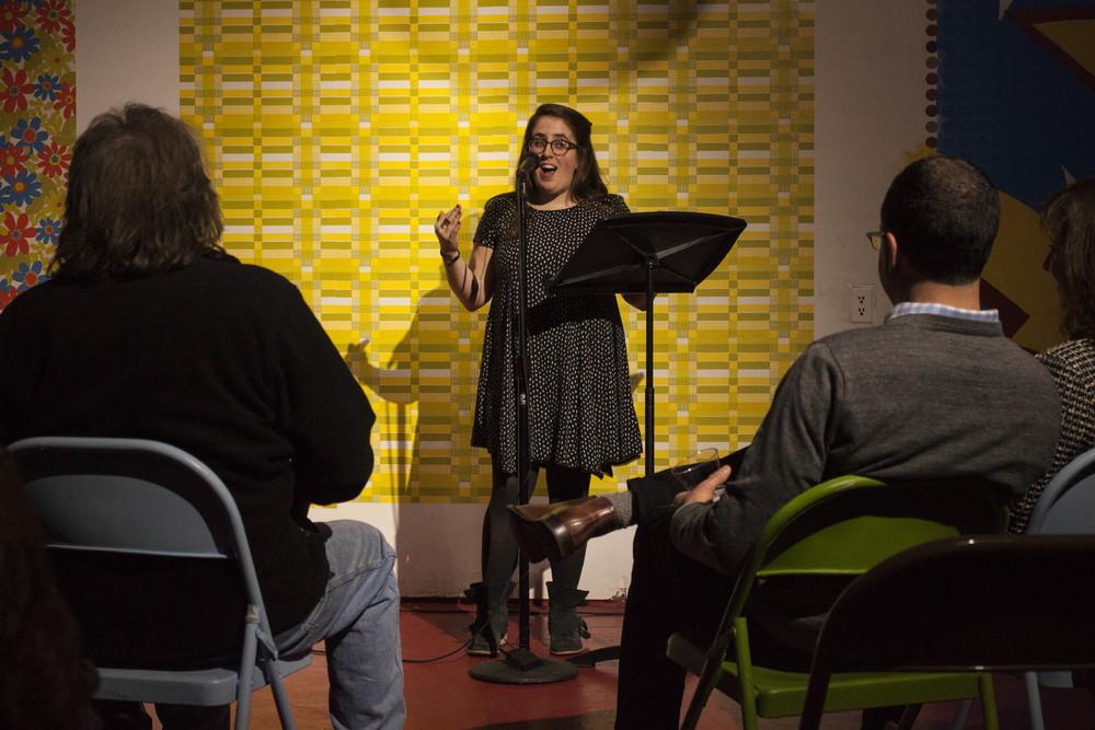 Christine Davenport  at Memphis Monologues (February 7, 2015)