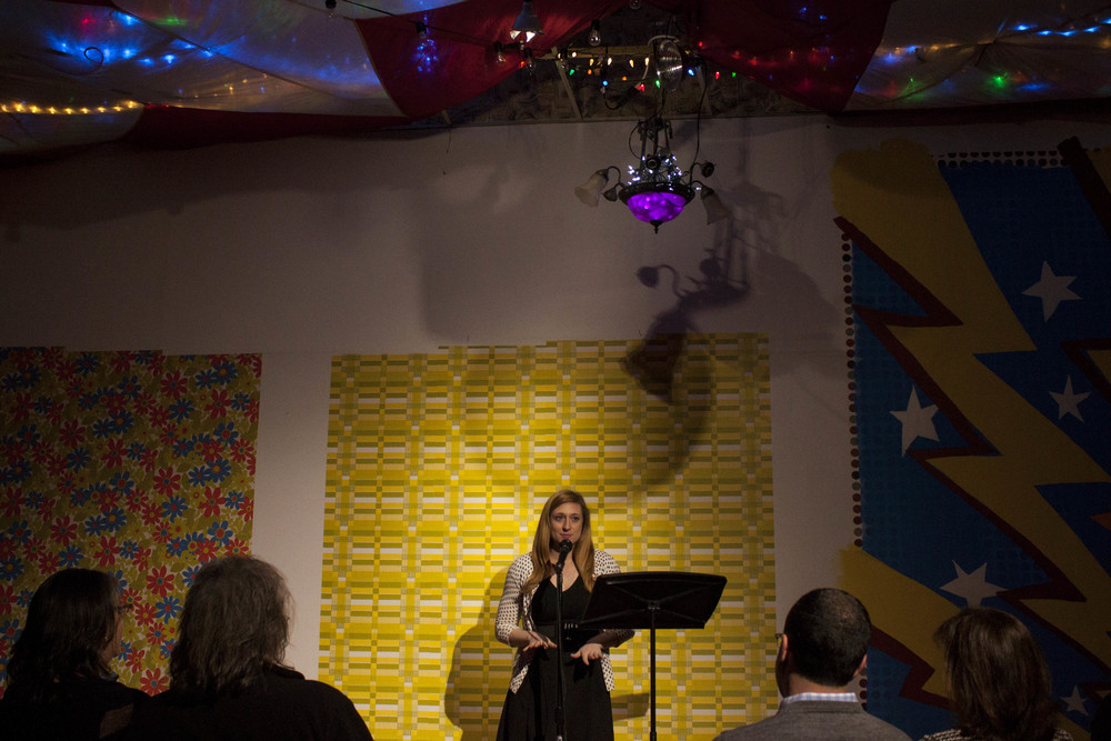 Holly Whitfield at Memphis Monologues (February 7, 2015)