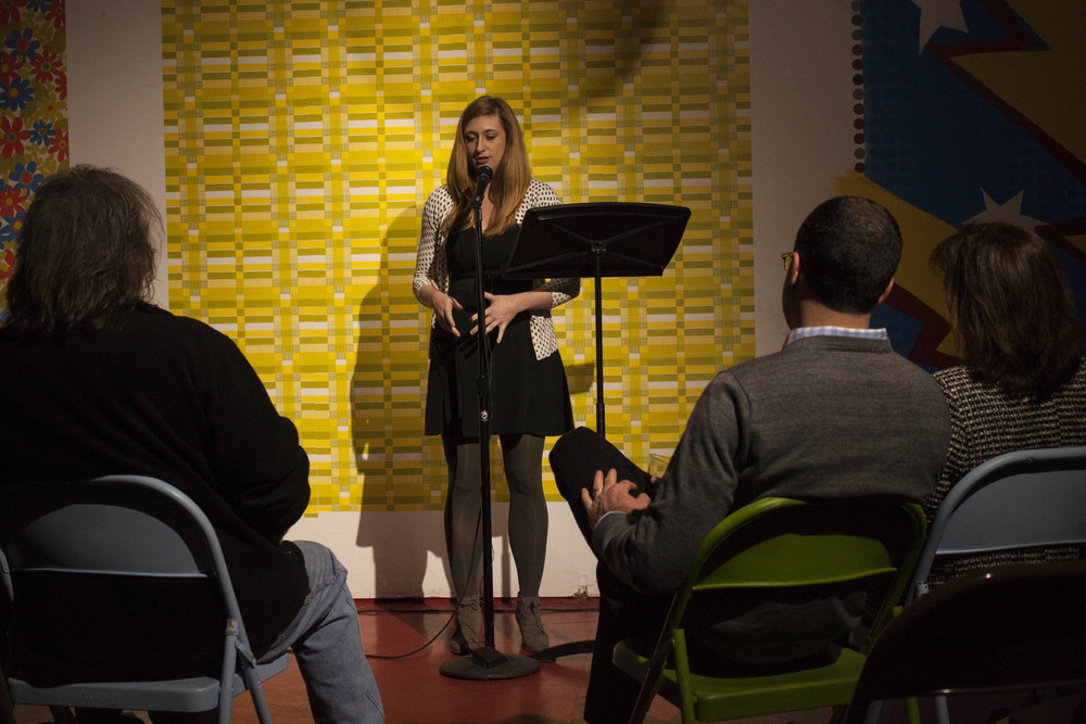 I Love Memphis's Holly Whitfield performs at the 2015 Memphis Monologues on February 7. 2015.