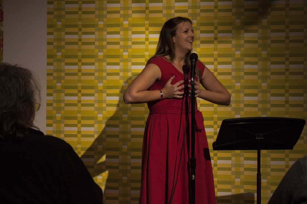 Memphis Monologues was inspired by Eve Ensler's Vagina Monologues.  (Pictured is Leah Keys.)