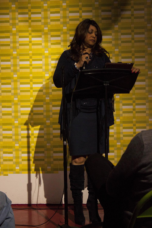 Gale Jones Carson at Memphis Monologues (February 7, 2015)