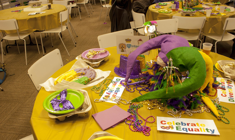 VIP tables competed for best tablescape. (February 8, 2015)