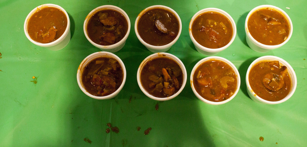 The magic is in the roux. Over 10 teams competed in the 5th annual gumbo-cooking contest.