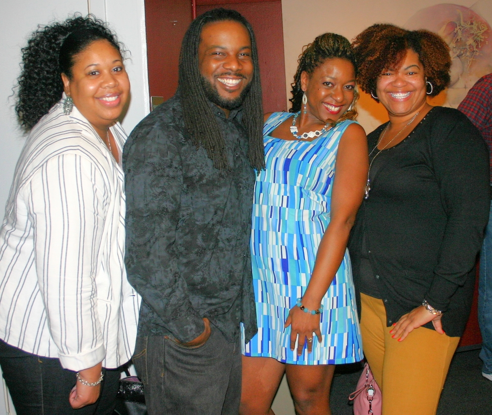 Members of InnerCity South with Audience Members after the DragNificent Variety Show (March 12, 2015)