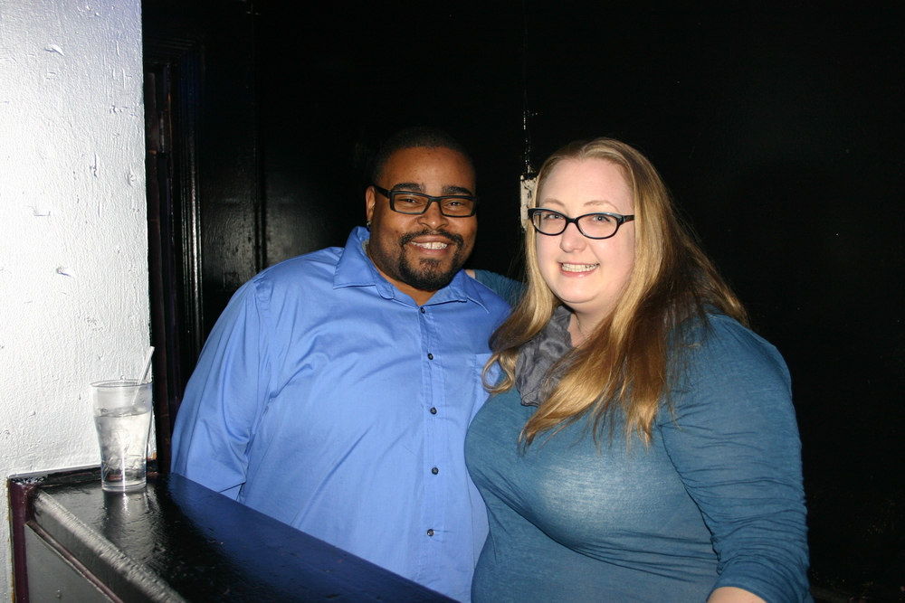 Local LGBT Community Organizations teamed up to handle staffing at the Third Annual Love Doesn't Hurt Fundraiser at Spectrum Nightclub March 27, 2015