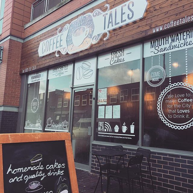 Next time your paying us a visit in the @jqbirmingham check out #coffeetales - amazing coffee and homemade cakes #coffeefix @houseofsolusjewellery