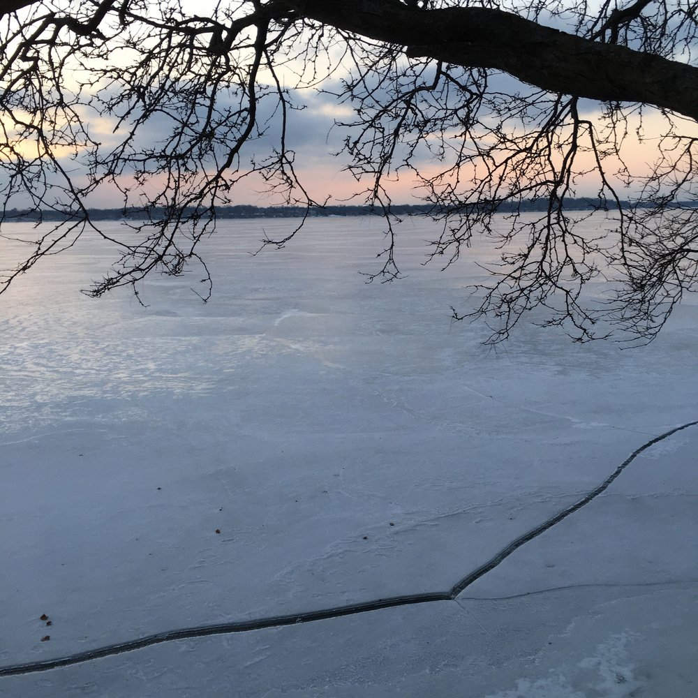 ice quake on Lake Monona
