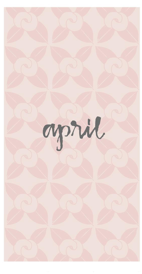 FREE April screensaver www.outside-the-line.com