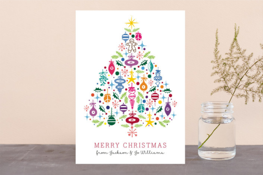 Minted Christmas Card by Rae Kaiser