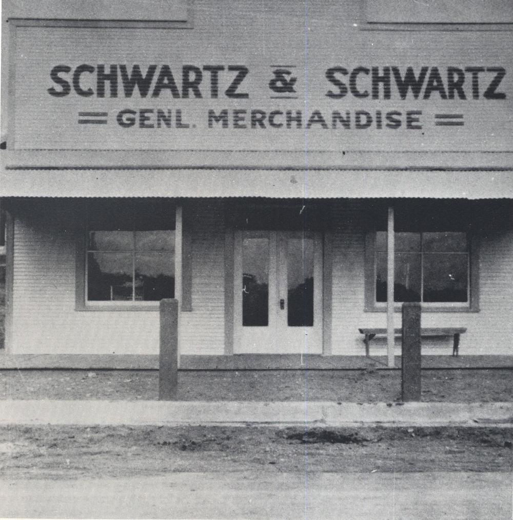 Schwartz & Schwartz Store, 1920s