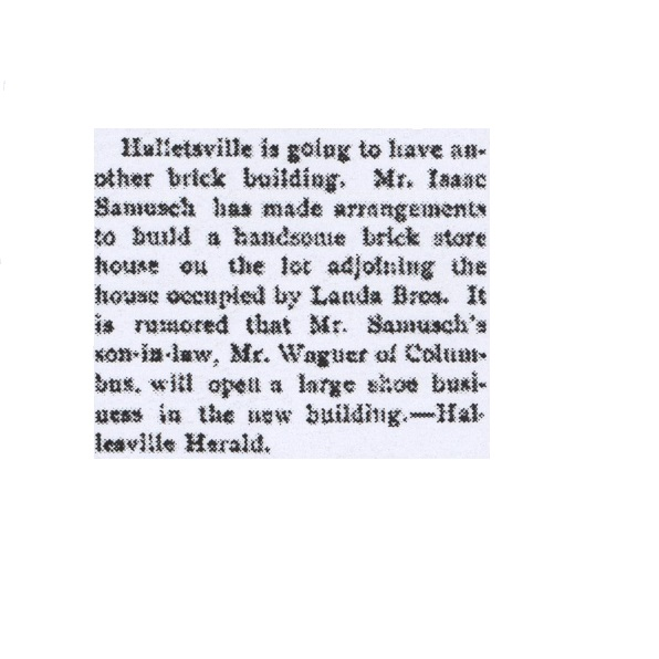 Samusch Building, 1897
