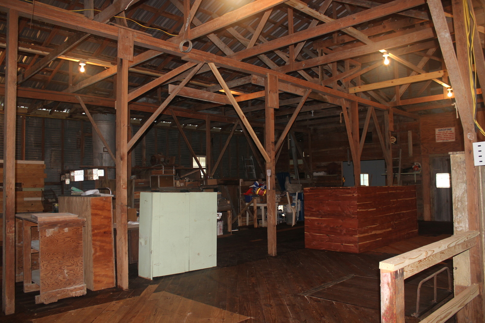 Old Burton Feed Mill, Interior