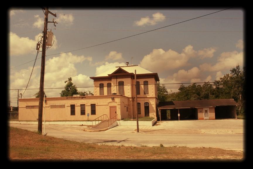 Old Hallettsville Jail, Hallettsville Texas