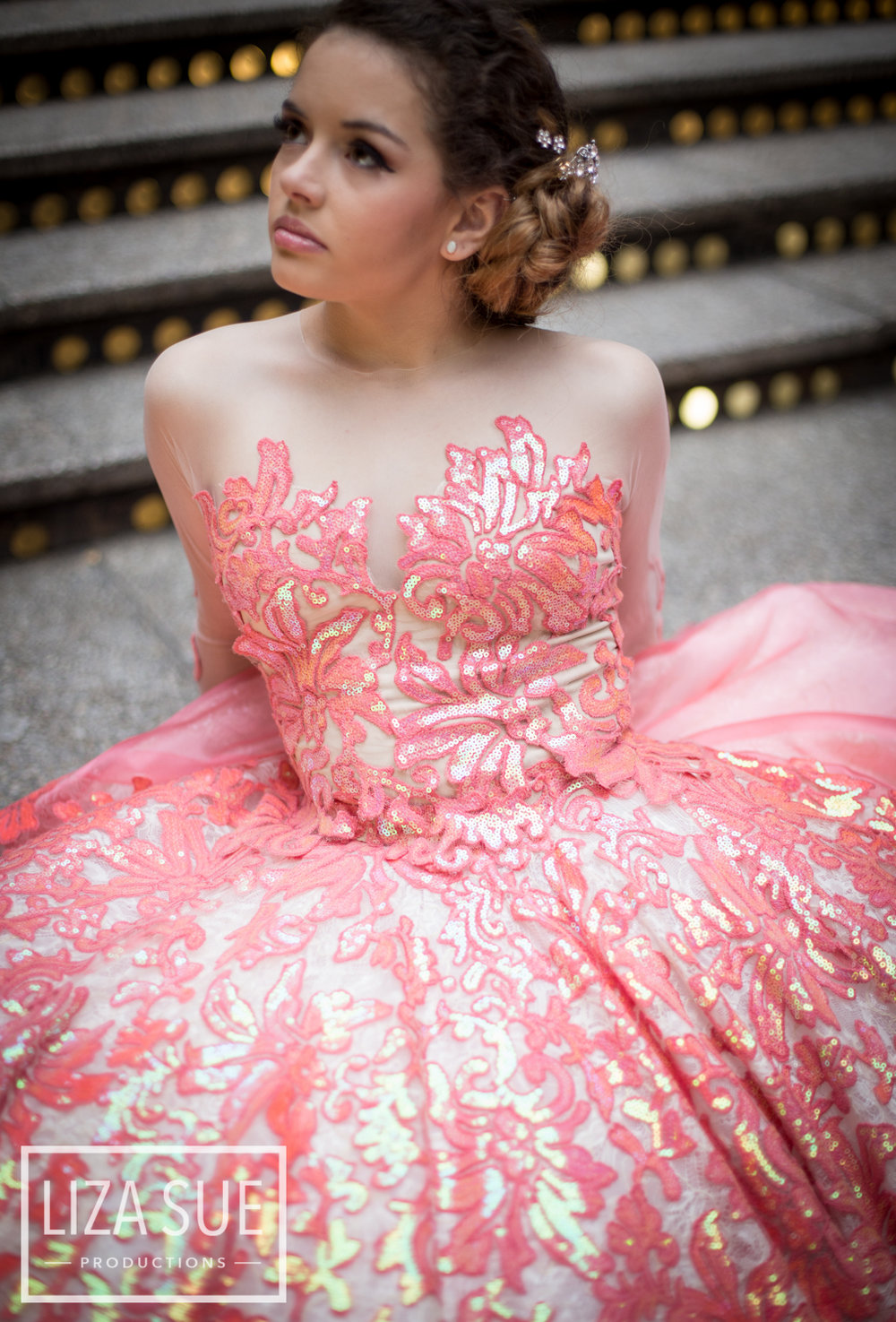 the hyatt downtown cleveland senior portraits