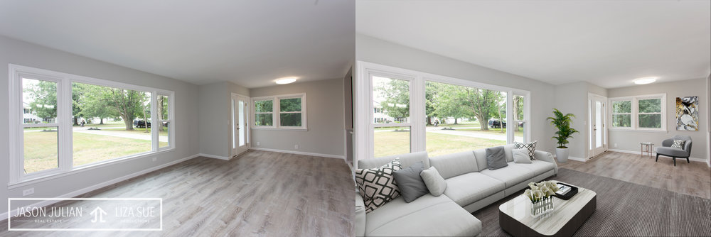 Virtual Staging Cleveland Akron