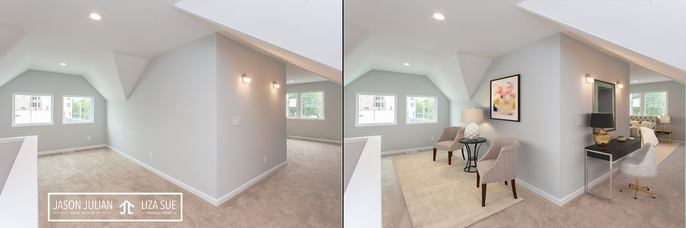 Cleveland + Akron Virtual Staging Real Estate Photography
