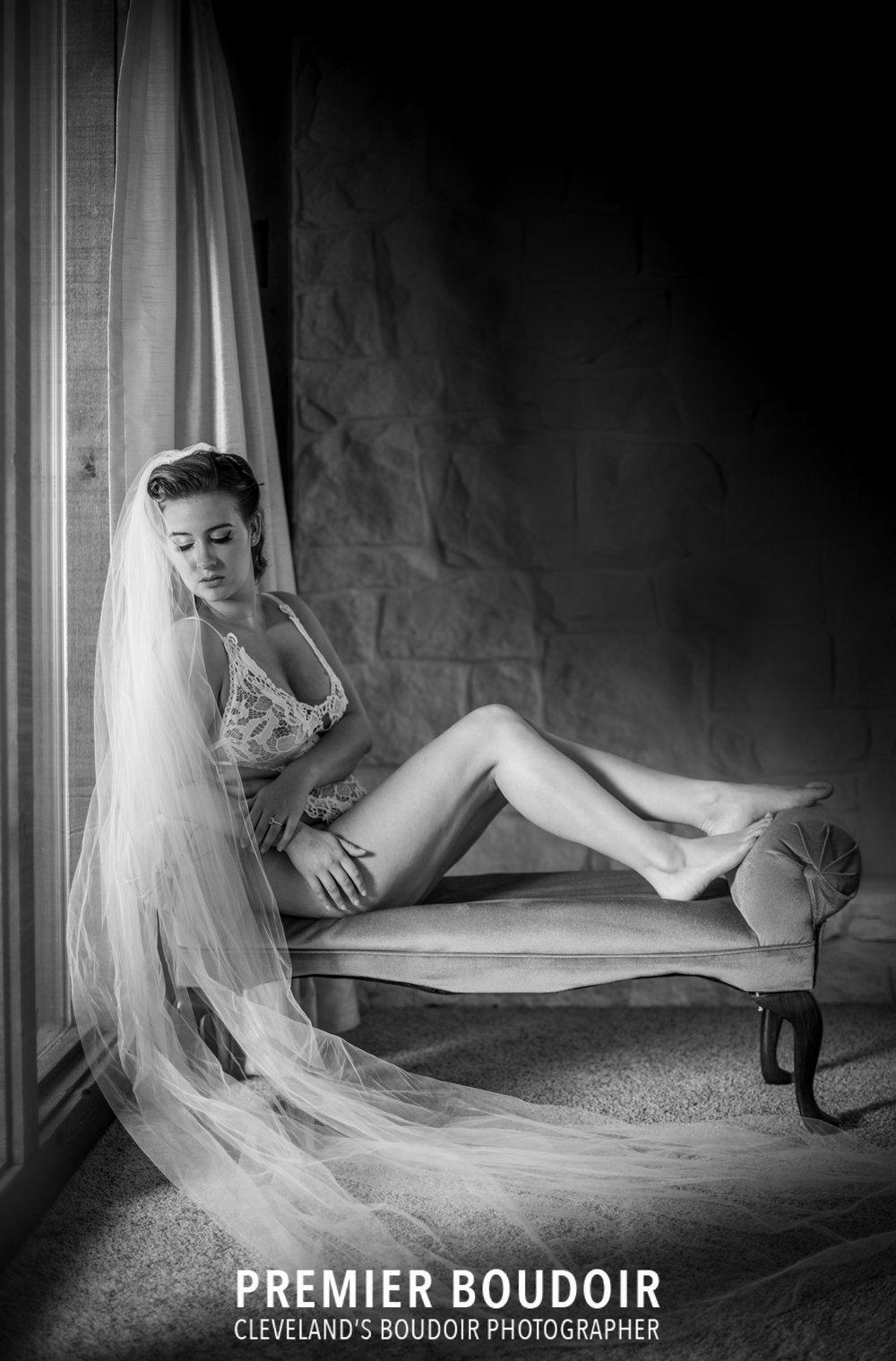 akron cleveland premier boudoir pinup bride