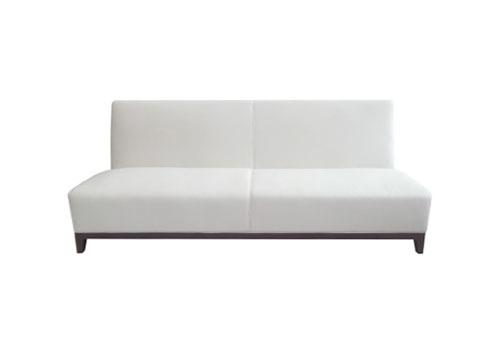 white classic sofa