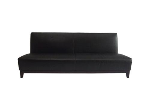 black classic sofa