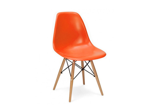 DSW orange chair
