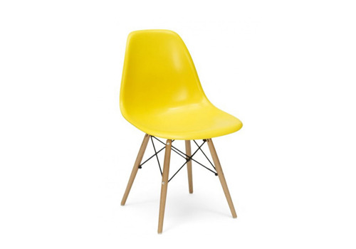 DSW yellow chair