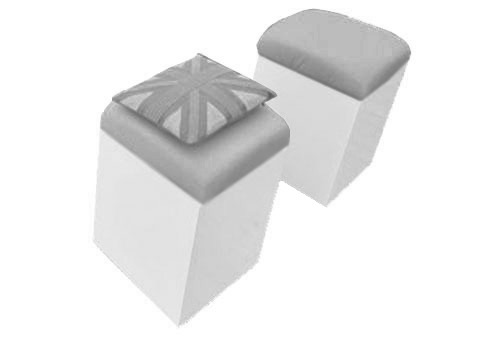 grey cube seat