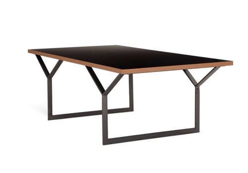 black graphix coffee table