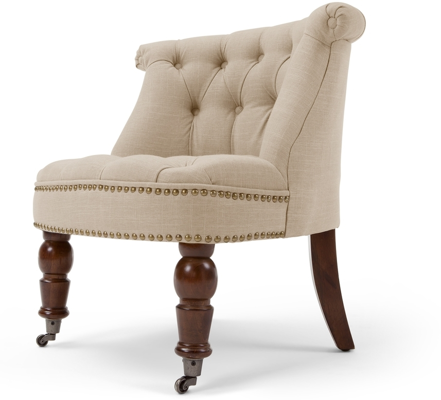 biscuit boudoir chair