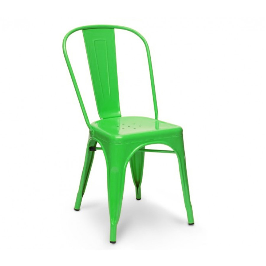 lime cafe chair