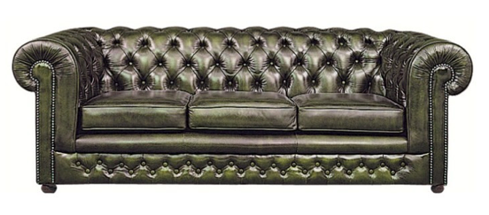 dark green three seater sofa
