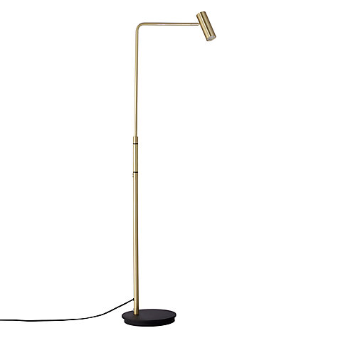 gold floor lamp