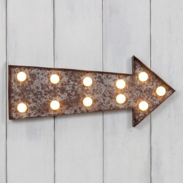 broadway arrow table lamp