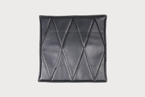 black seat pad