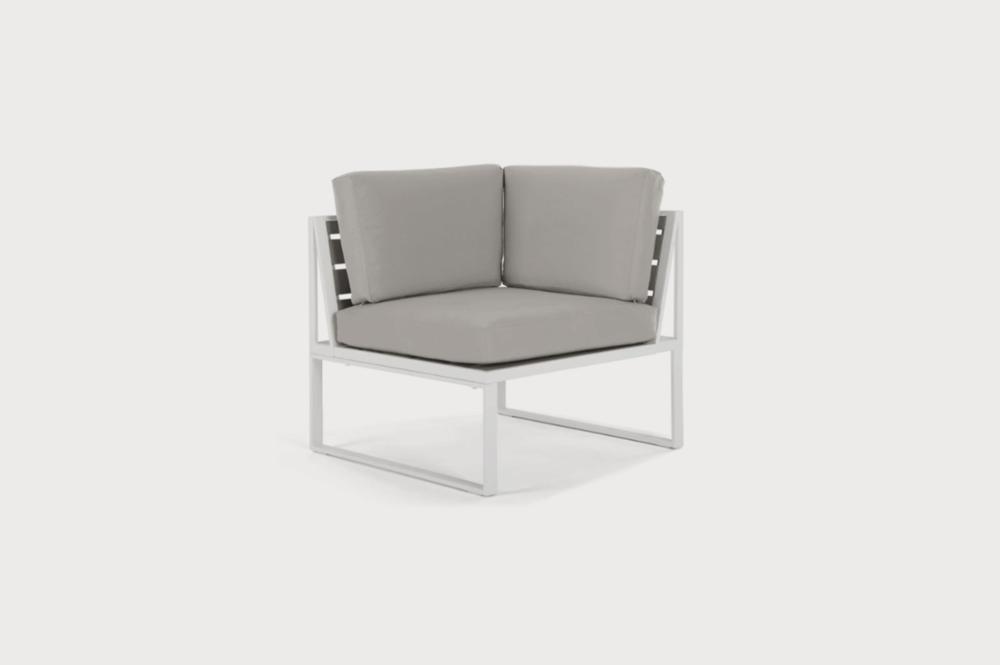 Alfresco modular corner armchair