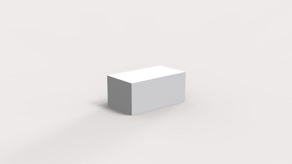 Rectangular platform