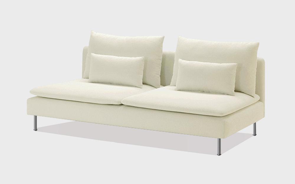 Natural cotton sofa