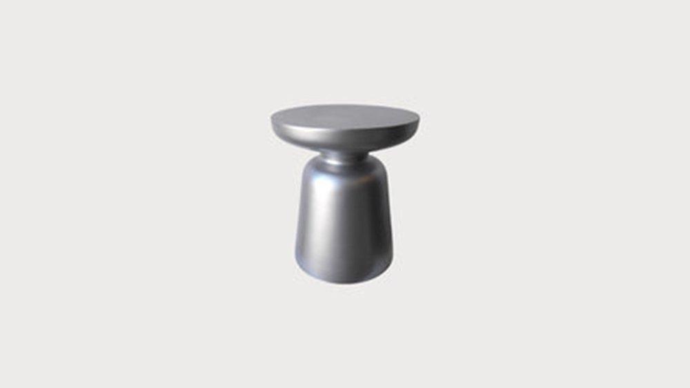 Matte silver