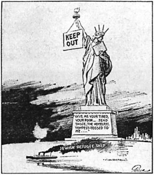Fred Packer cartoon in the New York Daily Mirror from June 6, 1939