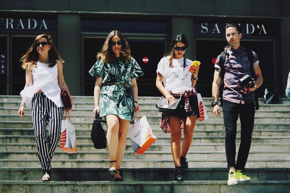 Foto: Patricia Rodríguez para vente-privee.com en las IV Jornadas de Blogs de Moda del Museo del Traje/CIPE, Madrid.