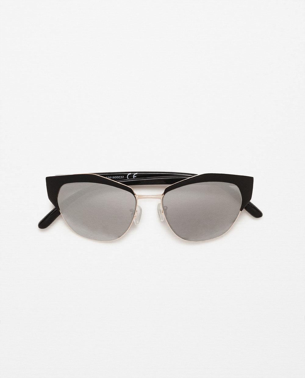 Gafas de Sol con Inspiración Cat Eye de Zara