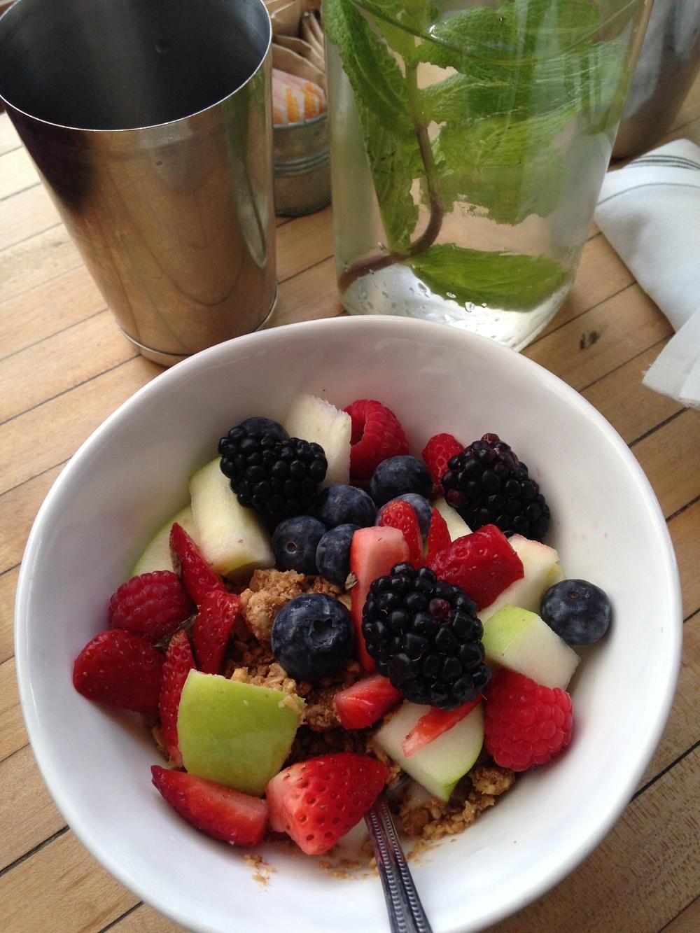 Coconut Yogurt Parfait
