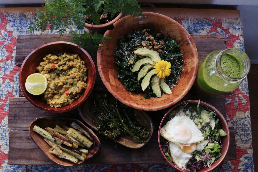 Porridge like rice and mung beans