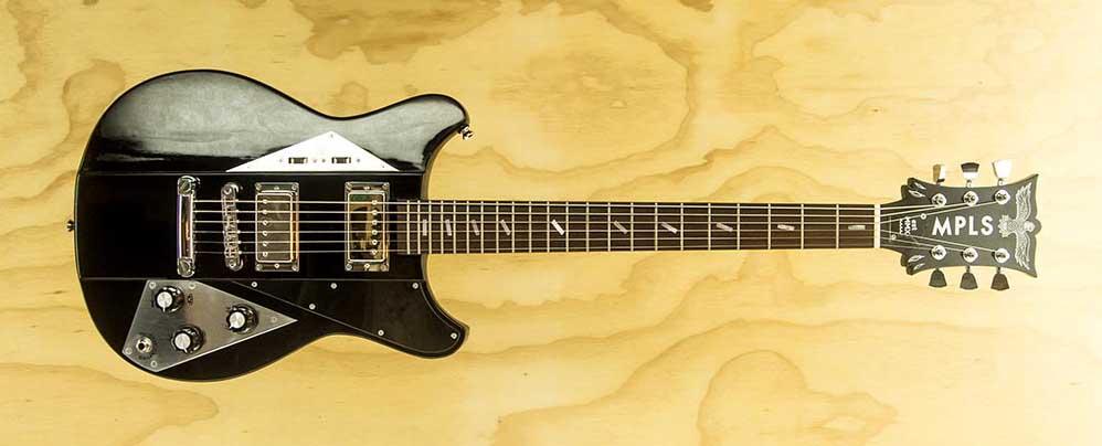 "a MPLS ""Sreamin' Eagle"" Guitar"