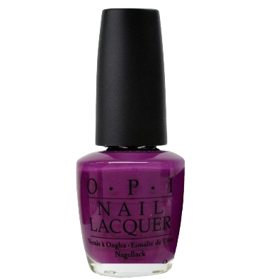 OPI in CAN YOU DIG IT? *Discontinued color* (Any purple works great for the look!)